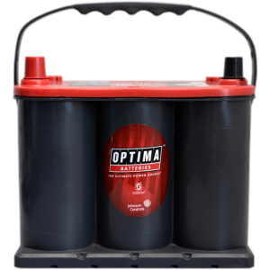 OPTIMA RED TOP RTS 3.7 12V 44Ah 910A AGM 1