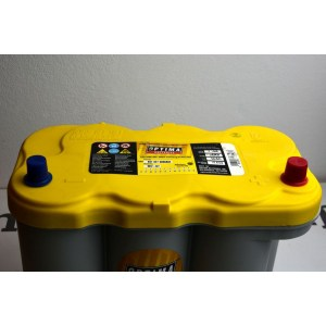 Optima Batteries YELLOW TOP YTR5.0 66Ah 845A AGM YTR 5.0